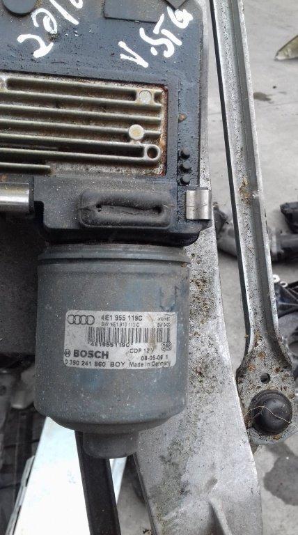 Ansamblu stergatoare cu motoras Audi A8, cod 4E1955119C / 0390241860