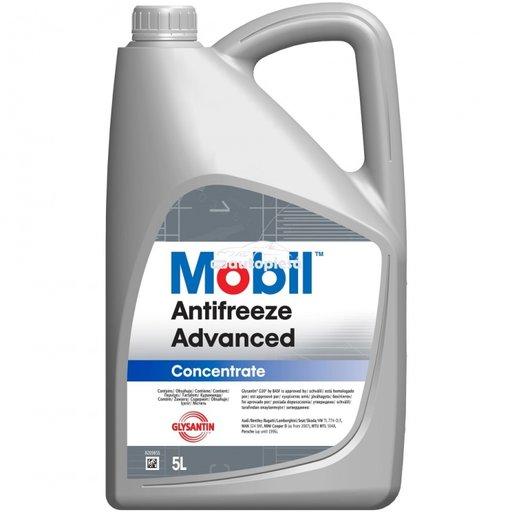 Antigel concentrat MOBIL Antifreeze Advanced G12 / G12+ Rosu / Roz 5 L MOB ANTIF.AD 5L - piesa NOUA