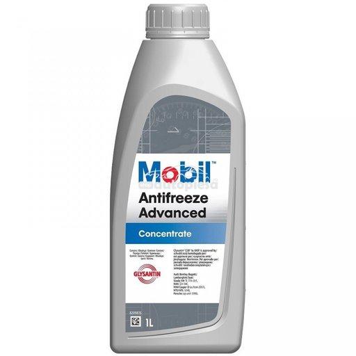 Antigel concentrat MOBIL Antifreeze Advanced G12 / G12+ Rosu / Roz 1 L MOB ANTI ADV 1L - piesa NOUA