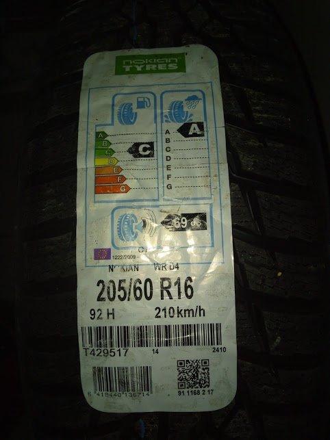 Anvelopa 205/60 R16 92H Nokian WR D4