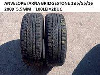 Anvelope iarna 1955/55/16 65.5MM BRIDGESTONE 100LEI=2BUC