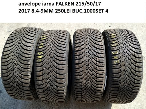 Anvelope iarna FALKEN 215/50/17 2017 8.4-9MM 250LEI BUC.1000SET 4