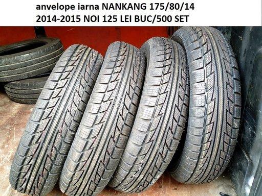 Anvelope iarna NANKANG 175/80/14 2014-2015 NOI