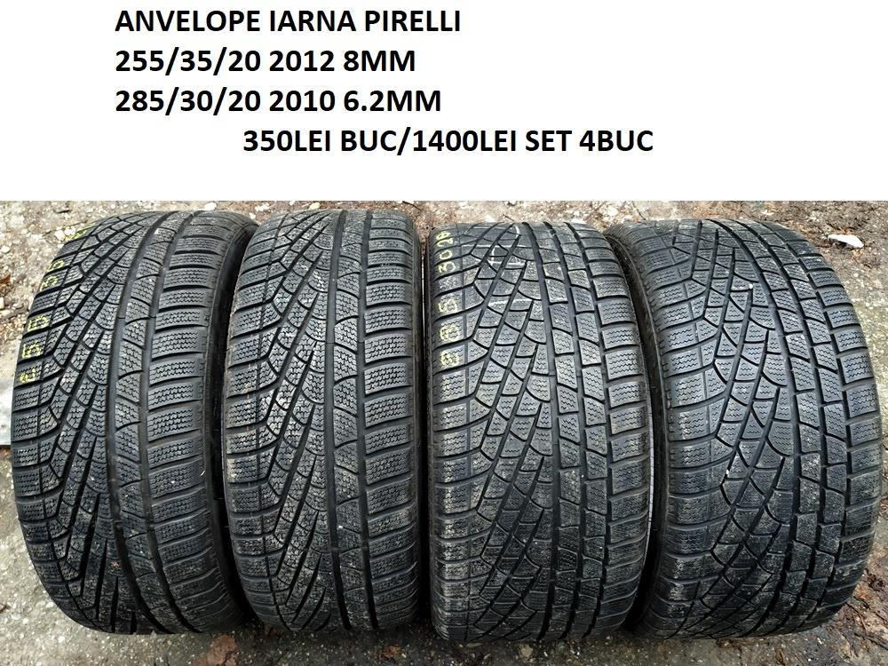 Anvelope IARNA PIRELLI 255/35/20 CU 285/30/20