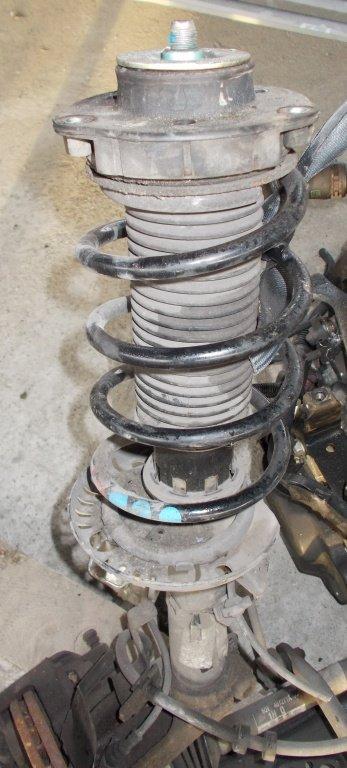 Arc + amortizor stanga fata Seat Ibiza 1.2 6v, benzina, din 2006