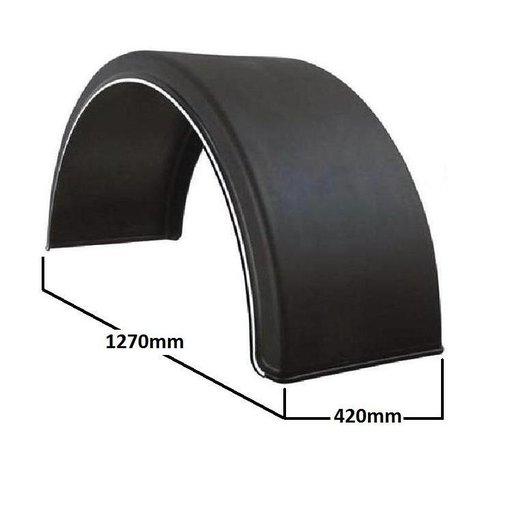 Aripa de noroi circulara pentru roata simpla, 420mm latime | Piese Noi | Livrare Rapida