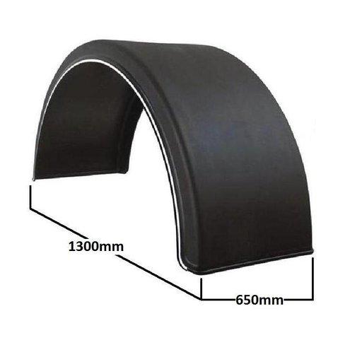 Aripa de noroi circulara pentru roti duble, 650mm latime | Livrare Rapida | Piese Noi