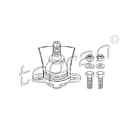 Articulatie sarcina/ghidare axa fata ambele parti SEAT ALHAMBRA ( 7V8, 7V9 ) 04/1996 - 03/2010 - producator TOPRAN 109 317 - 301564 - Piesa Noua