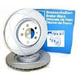 Ate power disc set 2discuri frana fata cu r285mm pt opel vectra c,signum,fiat croma