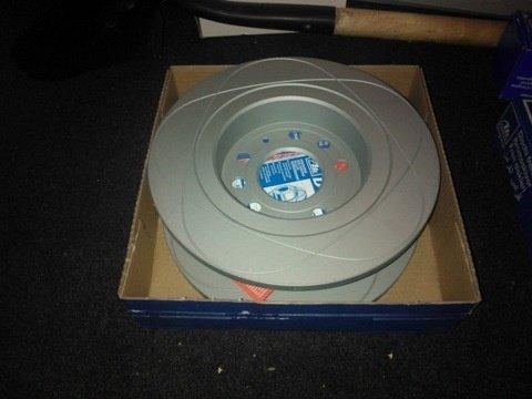 Ate power disc set 2discuri frana spate cu r278mm pt opel vectra c,signum,fiat croma