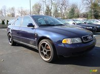 AUDI A4, albastru, 1.6 Benzina, limousine