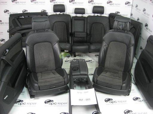 Audi Q7 4L S line FaceLift 2012 Interior Complet Scaune cu Monitoare