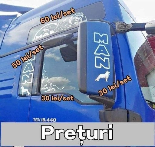 Autocolante/Stickere/Abtibilde MAN