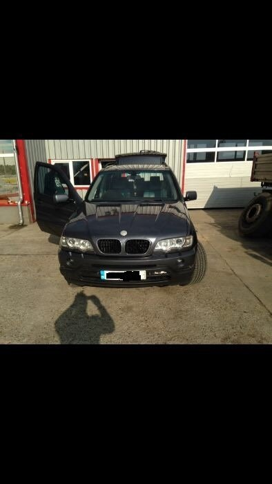 Bancheta spate BMW X5 E53 2001 JEEP 3.0