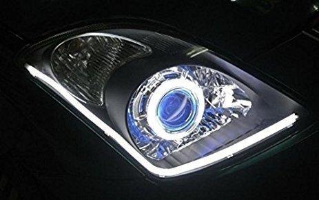 Banda flexibila LED DRL Lumina DE ZI alba 30cm SET