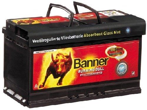 BANNER – Acumulator Running Bull AGM 105 Ah