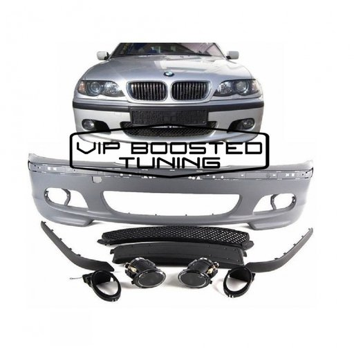 Bara Fata BMW E46 M TECH 2 II +PROIECTOARE