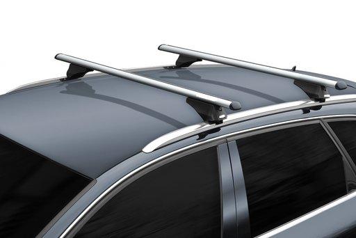 Bara / Set 2 bare portbagaj cu cheie SKODA Superb III 2015-prezent Combi / Caravan - ALUMINIU - 003B120