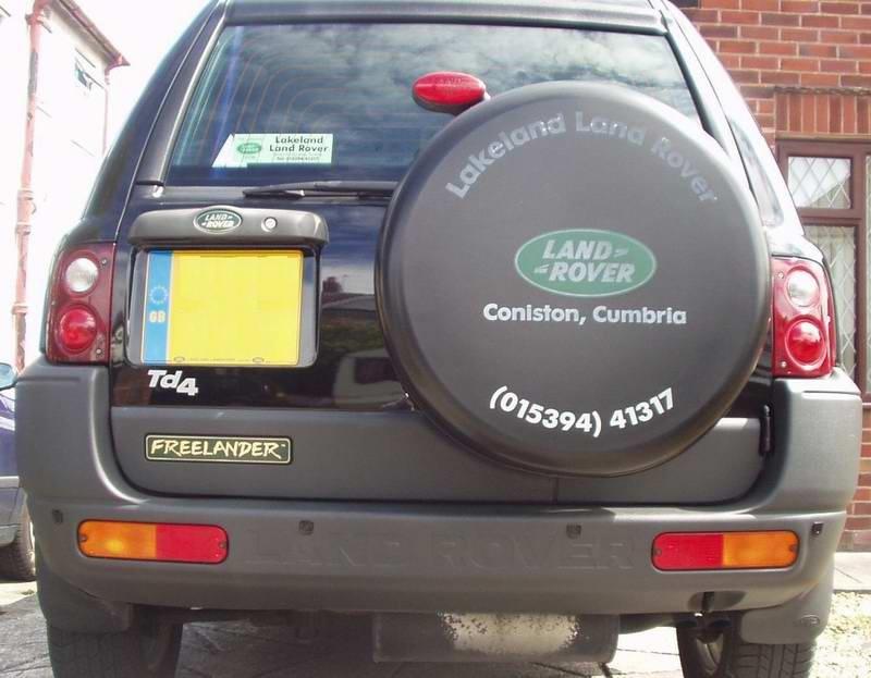 Bara spate Land Rover Freelander 1998-2003