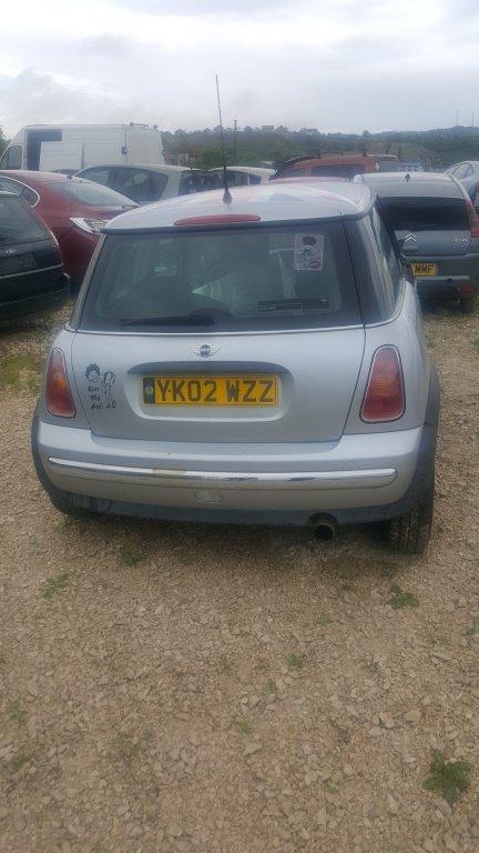 Bara spate Mini One 2002