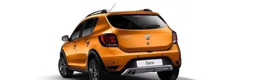 Bara spate noua Dacia Sandero 2 Stepway 2019