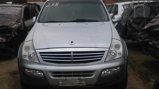 Bara spate SsangYong Rexton 2005 Off-Road 2698
