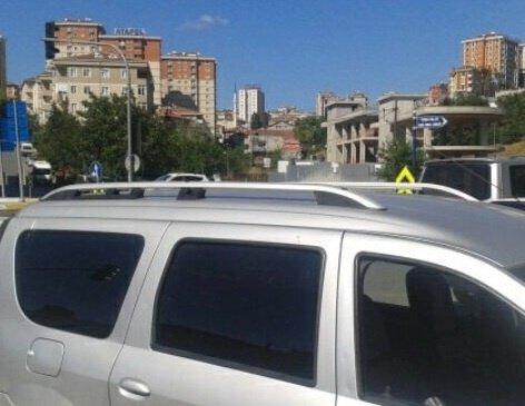 Bare longitudinale set Dacia Dokker argintii