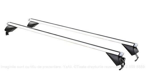 Bare portbagaj aluminiu tip Wingbar pentru Opel Zafira Tourer C 2011-2018