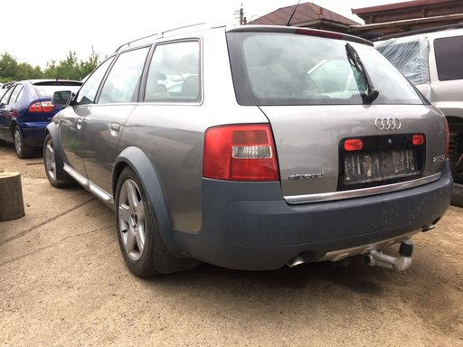 Bare portbagaj longitudinale Audi A6 Allroad 2003