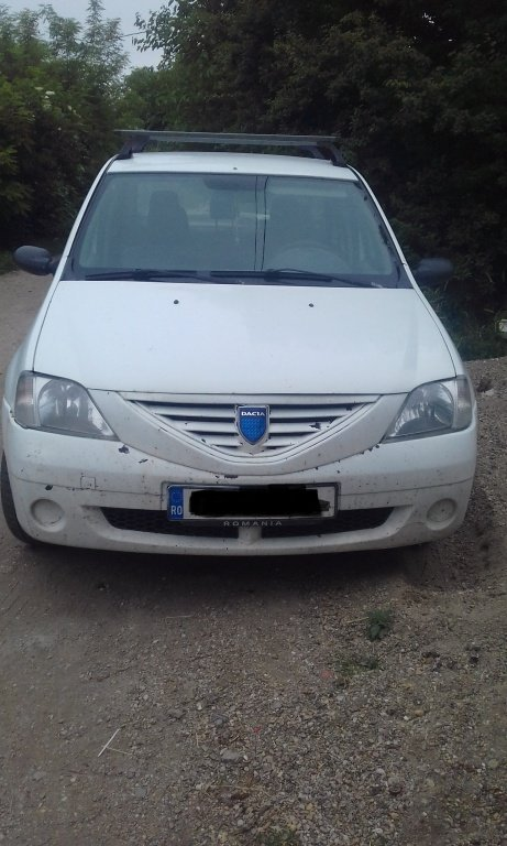 Bare portbagaj longitudinale Dacia Logan 2007 sedan 1.6 mpi