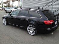 Bare portbagaj pentru Audi A6/S6 2005-2012 avant combi din aluminiu cu sistem antifurt si cheie