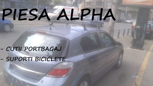 Bare portbagaj transversale Opel Astra G