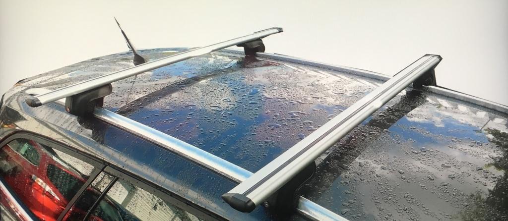 Bare transversale aluminiu tip Wingbar compatibile Opel Mokka / Opel Mokka X
