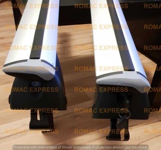 Bare transversale portbagaj ALUMINIU AERO WINGBAR: AUDI A3 A4 A6 Avant Allroad Q3 Q5 Q7