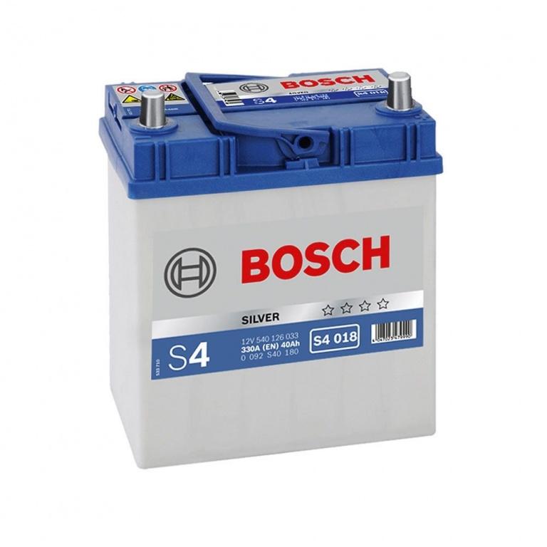 Baterie auto Bosch S4 40Ah/330A Tico Matiz