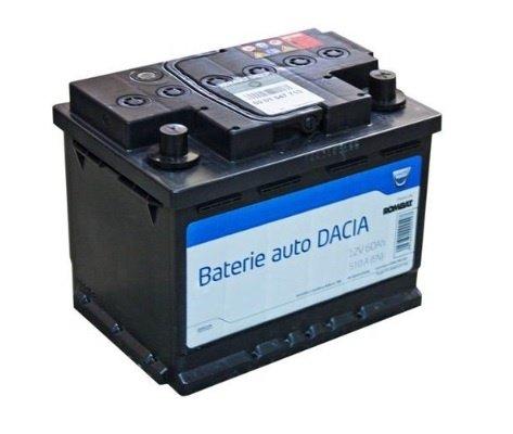 Baterie auto Dacia OE 12V 60 Ah 540 A 6001547710