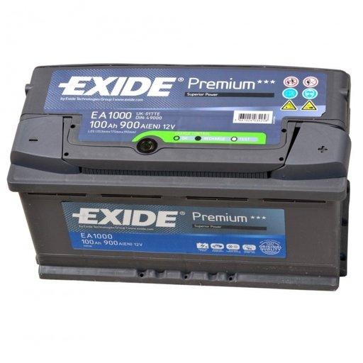 Baterie auto EXIDE PREMIUM S5 100Ah/EN900A