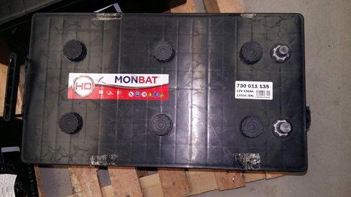 BATERIE AUTO MONBAT TRUCK 12V 230Ah 1350A Borna Normala (dreapta +) produs nou cod 730011135