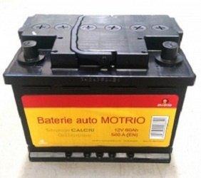 Baterie auto Motrio 60Ah Original Dacia 6001998867