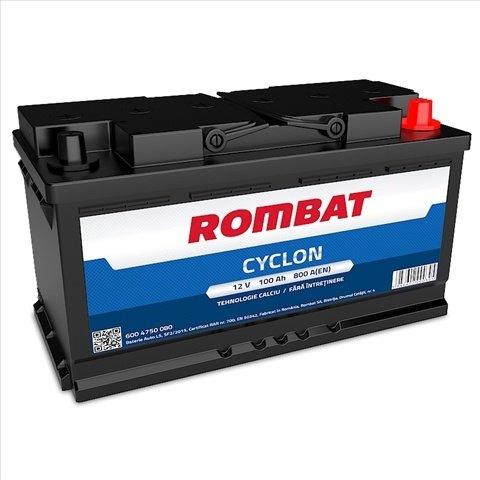 Baterie Auto Rombat Cyclon 100ah