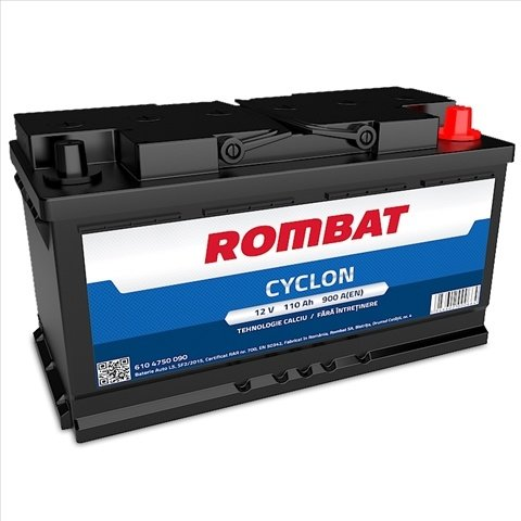 Baterie Auto Rombat Cyclon 110 AH