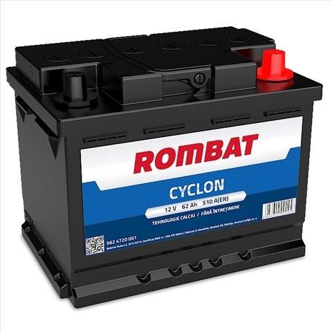 Baterie Auto Rombat Cyclon 62ah
