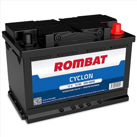 Baterie Auto Rombat Cyclon 72ah
