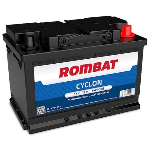 Baterie Auto Rombat Cyclon 77ah