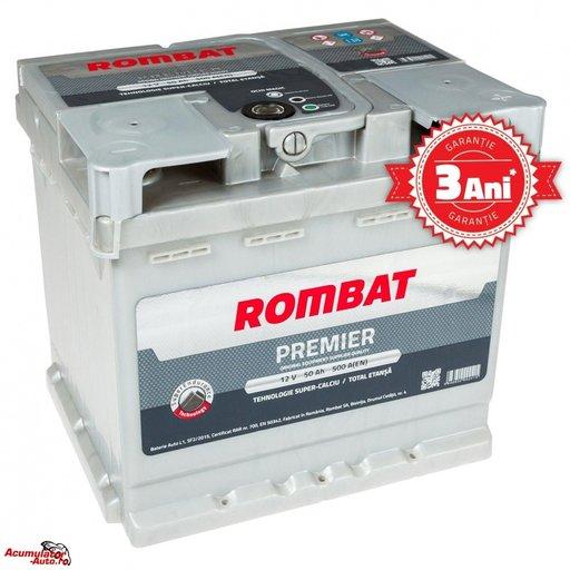 Baterie Auto Rombat Premier 50ah