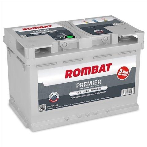 Baterie Auto Rombat Premier 75ah