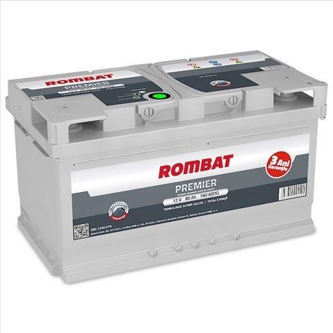 Baterie Auto Rombat Premier 80ah
