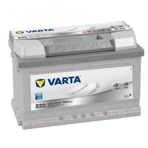 Baterie Auto Varta Sliver Dynamic 74 AH