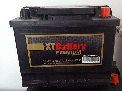 Baterie auto XT Premium 55Ah