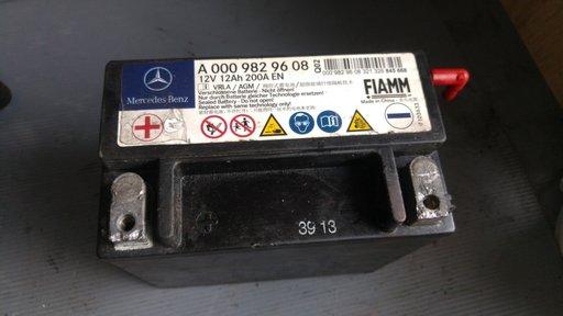 Baterie auxiliara mercedes a-class w176 b-class 246 cla c117 c-class w204 e-class w211 a0009829608